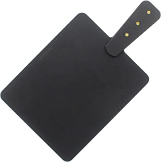 """product image for Epicurean Cutting and Serving Board with Brass Riveted Handle, 9"""" by 7.5"""", Slate"""