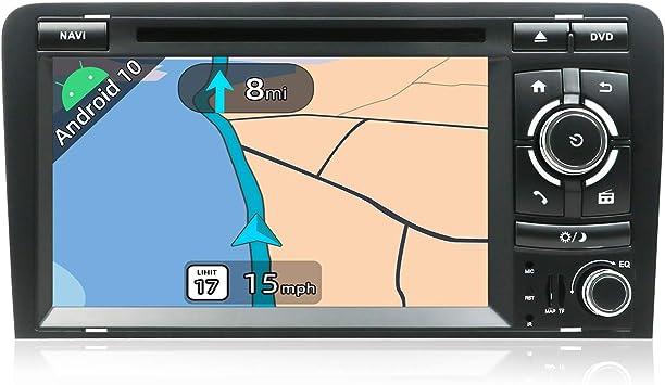 JOYX Android 10.0 Autoradio Estéreo Navegación GPS Compatible Para Audi A3 2003-2011 | Gratis Cámara Canbus | 2 Din 7 pulgada 2GB/32GB |SD |USB |DAB+ ...
