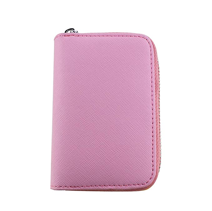 Amazon.com: Meich Leather Wallets for Men, Minimalist Short Wallet Card Holder Coin Pocket Carteras Light Weight & Compact Travel Purse 9 Card Slots, ...