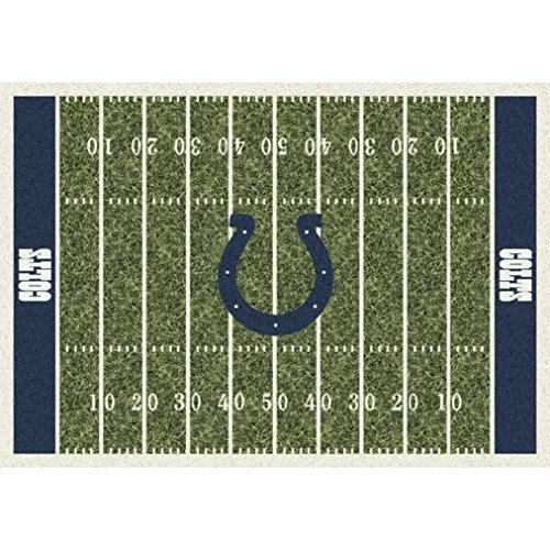 Indianapolis Colts NFL Team Home Field Area Rug by Milliken, 3'10