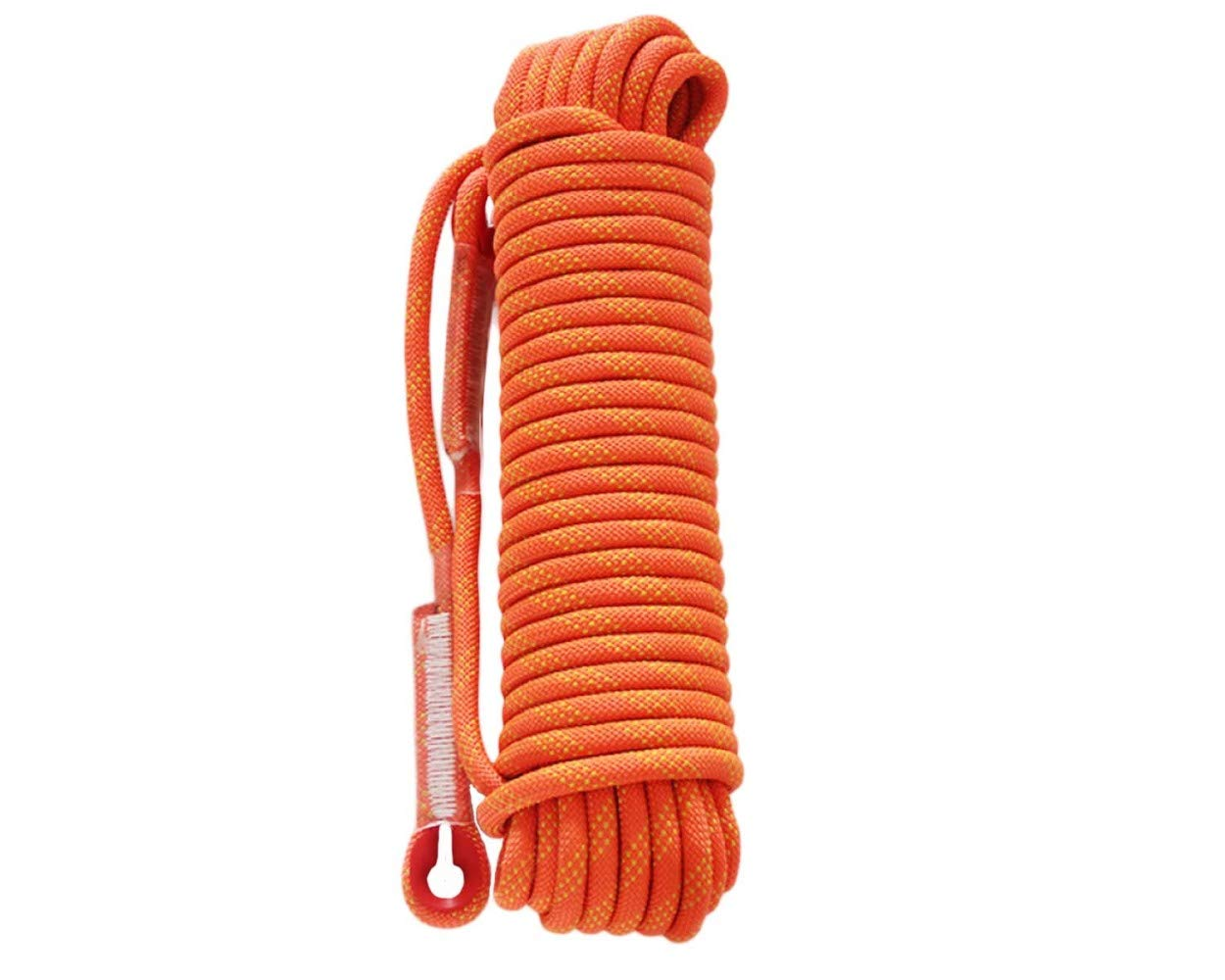 Orange ZAIYI-Climbing rope Alpinisme Aventure Randonnée Camping en Plein Air Sécurité Anti-Glissement Porter Corde 12   14mm,Orange-50m12mm 40m14mm