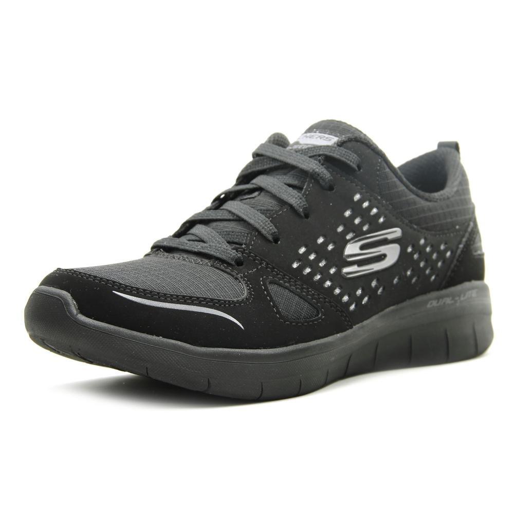 Skechers Womens Synergy 2.0 - Rising Star B06XX7VZ3M 6 B(M) US|Black