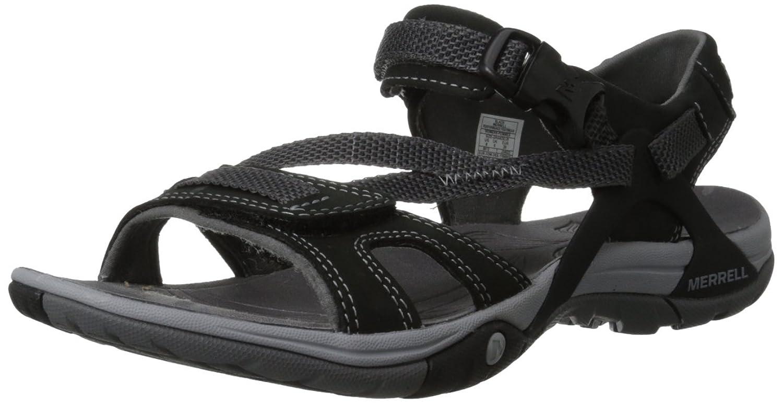 Black merrell sandals - Amazon Com Merrell Women S Azura Strap Sandal Sport Sandals Slides