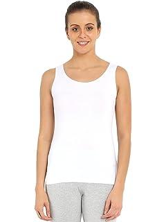 d1af706d51bd71 Jockey Women s Cotton Tank Top (Black)  Amazon.in  Clothing ...