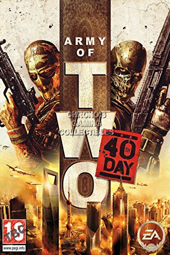 """Price comparison product image CGC Huge Poster - Army of Two The 40th Day PS3 XBOX 360 - OTH114 (24"""" x 36"""" (61cm x 91.5cm))"""