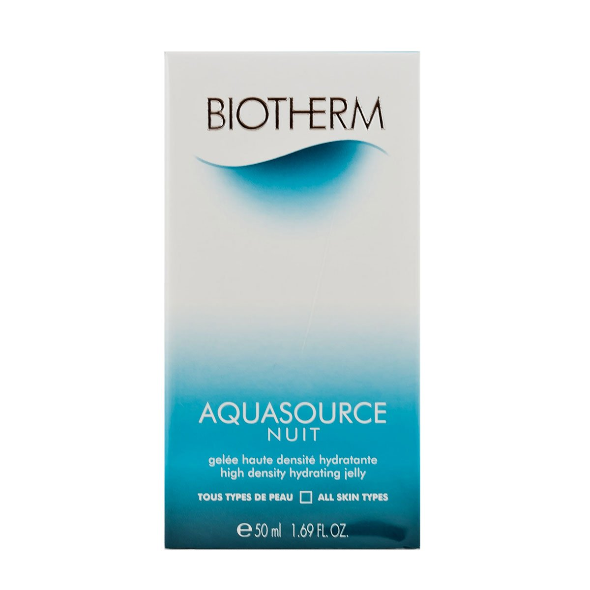 Biotherm Aquasource Nuit Hydrating Jelly Night Cream-All Skin Types for Unisex, 1.69-Ounce 3605540783351 BIO00022_-50ml