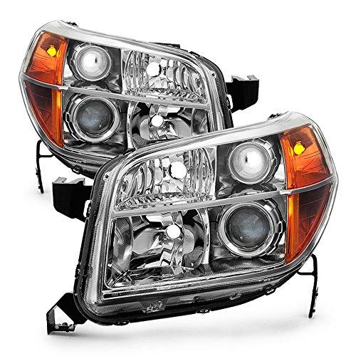 ACANII - For 2006 2007 2008 Honda Pilot Factory Headlights Headlamps Replacement 06-08 Driver + Passenger Side ()