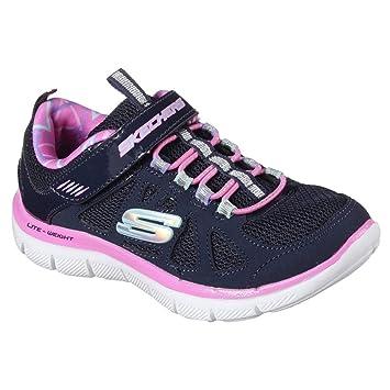 Skechers Girls Skech Appeal 2.0 Simplistick Navy Pink