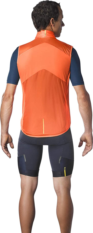 MAVIC Sirocco SL Weste Herren red-orange 2020 Fahrradweste