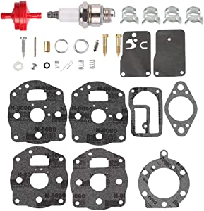 Fuel Li 694056 Carburetor Overhaul Rebuild Kit for 491539 394502 460777 461707 461777 Carb