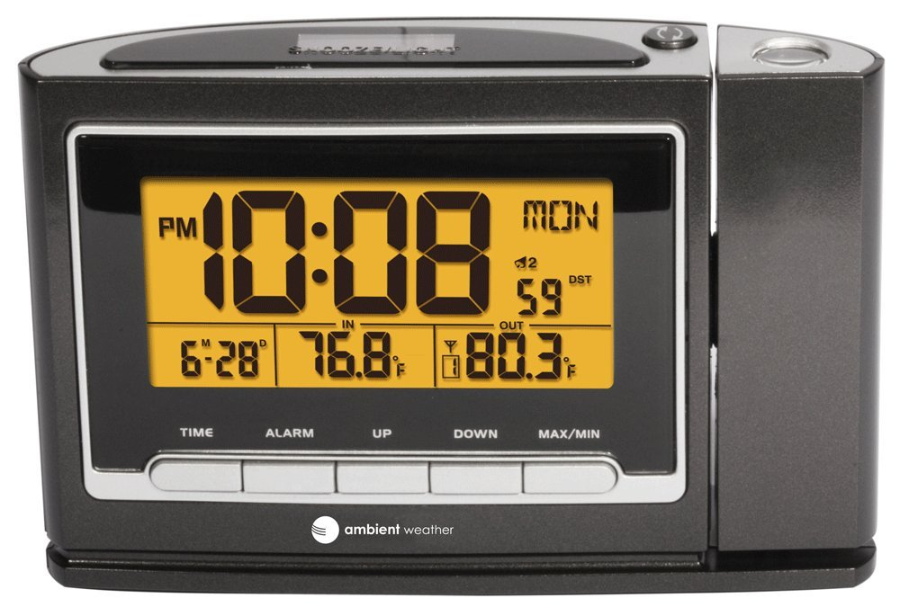 Amazoncom Ambient Weather WS 8365 ClearView Projection Clock