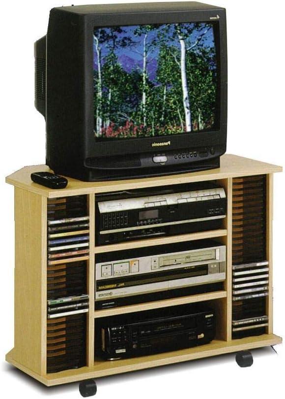 JUINSA Mesa TV Porta CD 78x40x57cm Kit