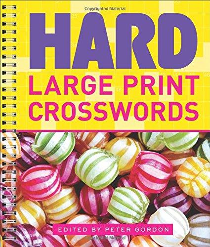 Hard Large Print Crosswords Epub