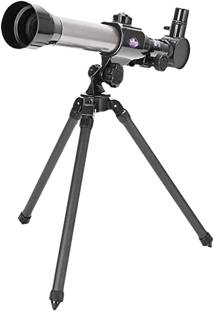 Astronomy Gifts Astronomical Refracting Telescope Telescope for Kids Astronomy Beginners 60mm Aperture Telescope with Tripod Travel Telescope with 3 Magnification Eyepieces