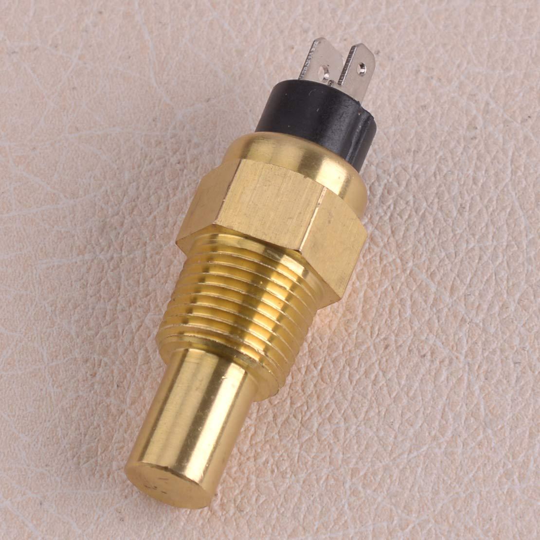 CITALL 3//8 NPT Gewinde Universal Wassertemperatur-Sensor Sender Kit