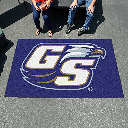Ulti-Mat Floor Mat w Official Georgia Southern Eagles Logo In Team Colors by Fanmats