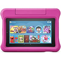 """Fire 7 Kids Tablet, 7"""" display, ages 3-7, with 2-year warranty, thousands of apps, games, books and more included for 1…"""