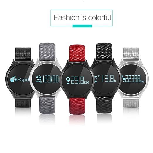 HSW reloj inteligente pulsera Bluetooth 4.0 Heart Rate Monitor ...