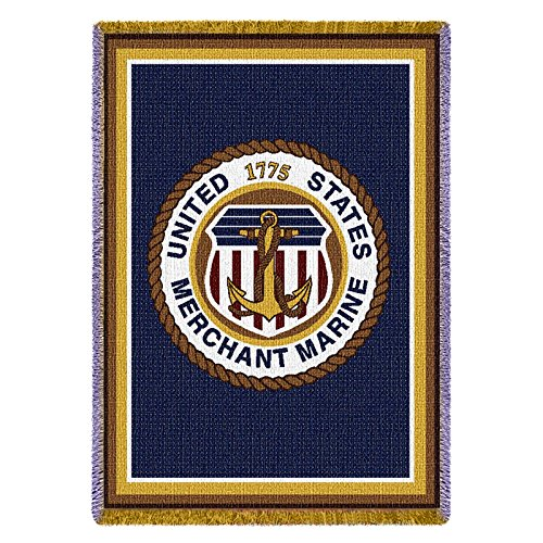 Pure Country Merchant Marine Tap Tapestry Throw -