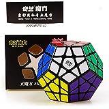 D ETERNAL QiYi QiHeng Megaminx 3x3 Speed Cube ,BlackBase