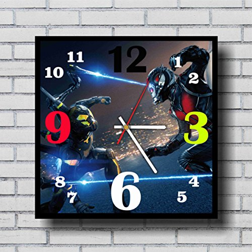 Irredeemable Ant-man Costume (Ant man 11.4'' Handmade Wall Clock - Get unique décor for home or office – Best gift ideas for kids, friends, parents and your soul mates)