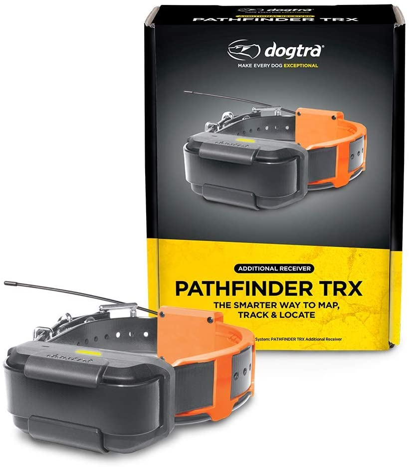 Dogtra Pathfinder TRX - Collar con GPS (talla RX), color negro