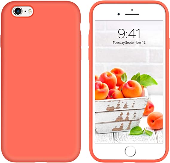 Liquid Silicone Cover for iPhone 6s 6