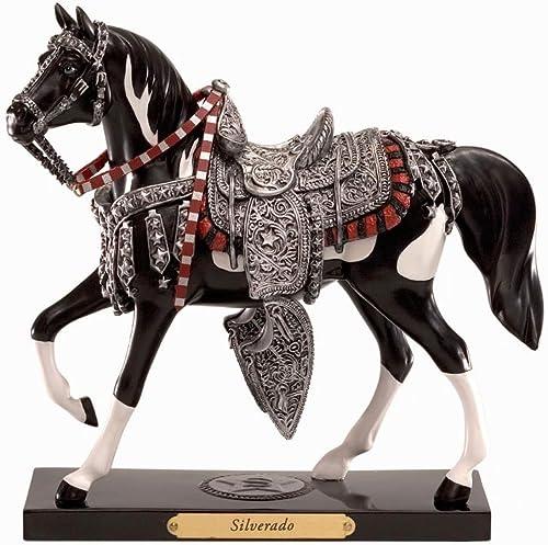 Enesco Trail of Painted Ponies Silverado Pony Figurine 7-Inch