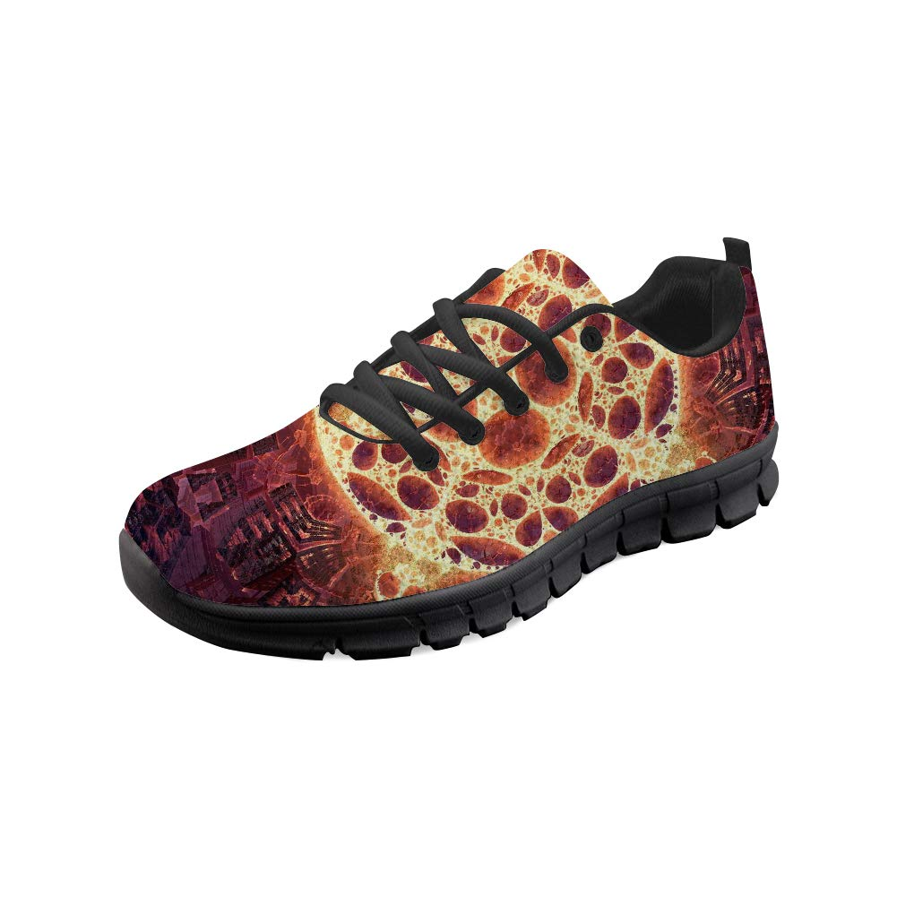 f8d4230f5d6fb Bigcardesigns Lightweight Running Sneakers Personality Printed Lace ...