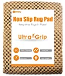 ifrmmy Premium Non Slip Area Rug Pad Supper Gripper for Any Hard Surface Floor, Keeps Your Rugs Safe and in Place