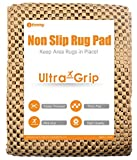 ifrmmy Premium Extra Thick Non-Slip Area Carpet Gripper Pad for Any Hard Surface Floor, Keeps Your Rugs in Place - 3x5 ft