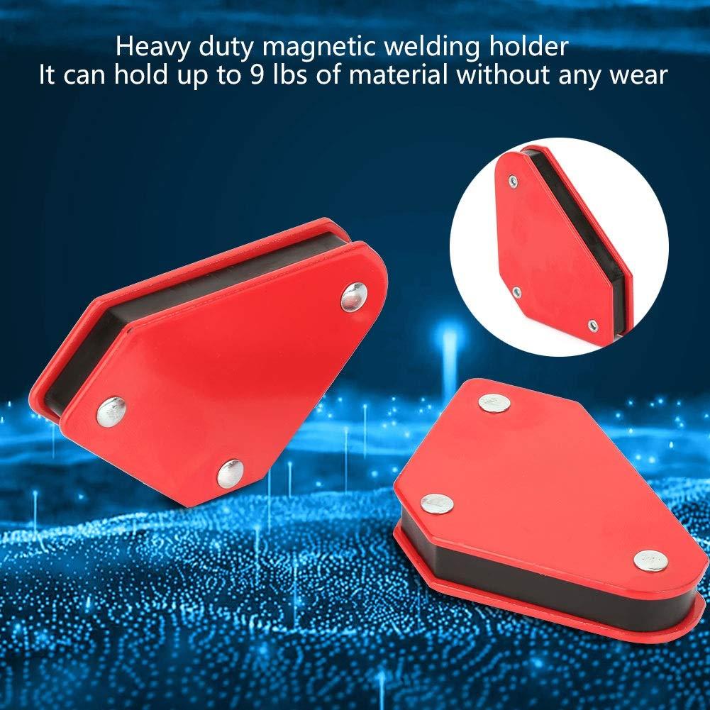 Magnetic Welding Holder 4pcs 9LB Angle Soldering Locator Magnetic Magnet Corner Arrows Welder Welding Holder Tool