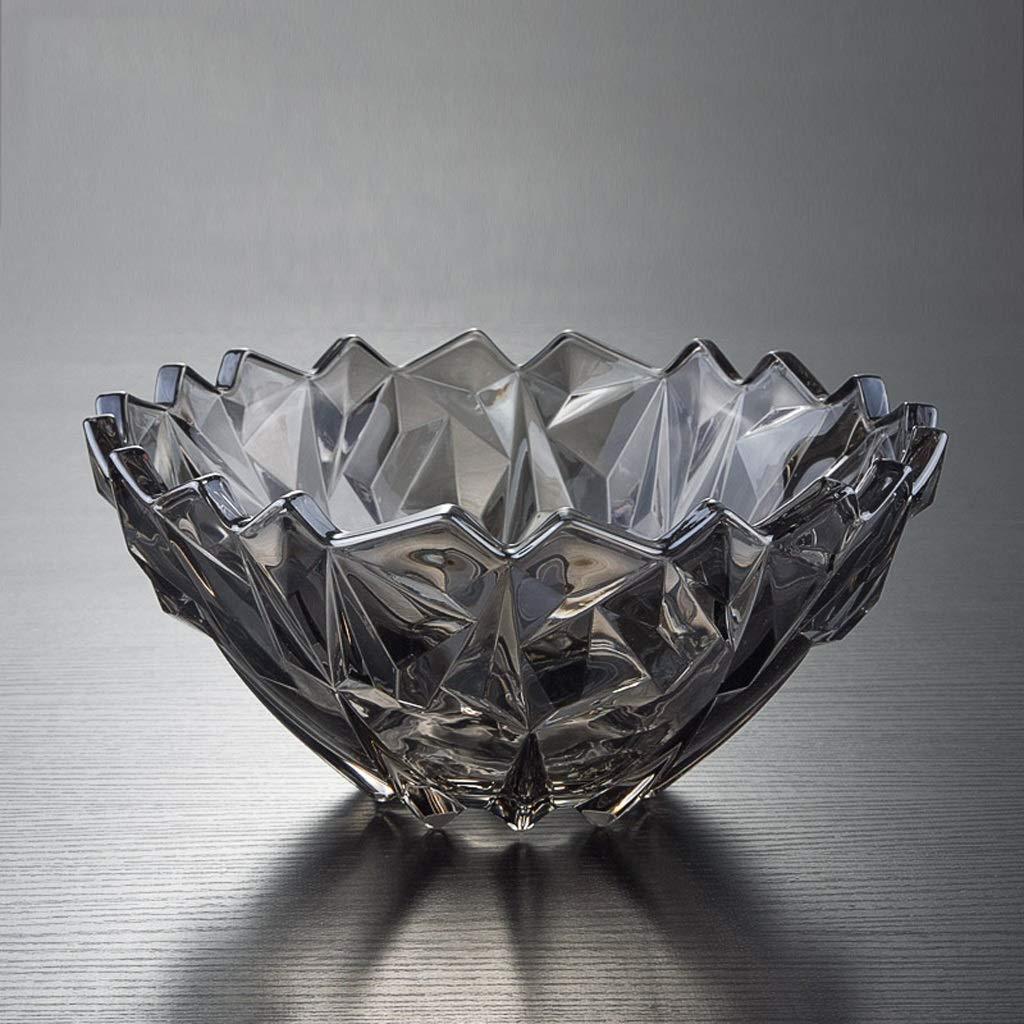 CXQ 現代クリエイティブクリスタルガラスホームリビングルームキャンディーディッシュフルーツプレート   B07GWVN58C