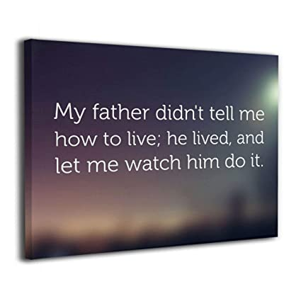 Amazon.com: BLI Dad Gifts Fathers Day Quotes Dad is Son\'s ...