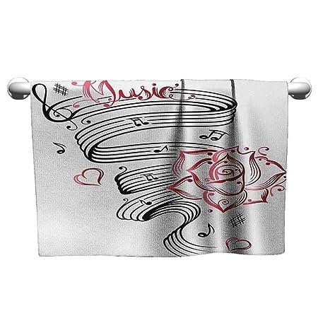 xixiBO Toalla de Tatuaje con diseño de Corazones con alas de ...