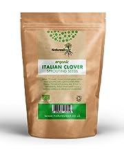Natures Root Semi Germinazione Trifoglio Biologico Italiano - Superfood   No OGM   Germogli Microverdi   Piantagione Giardino   Giardinaggio Vegetale (1kg)
