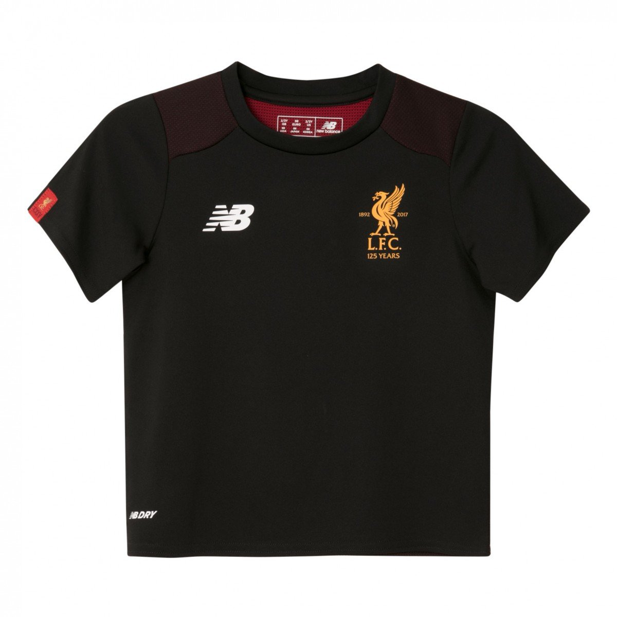 2017-2018 Liverpool Infants Training Shirt (Black) B071WMG3YJ