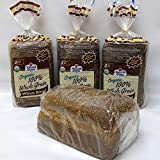 Natural Ovens Organic 100% Whole Grain Wheat Bread (Pack of 4)
