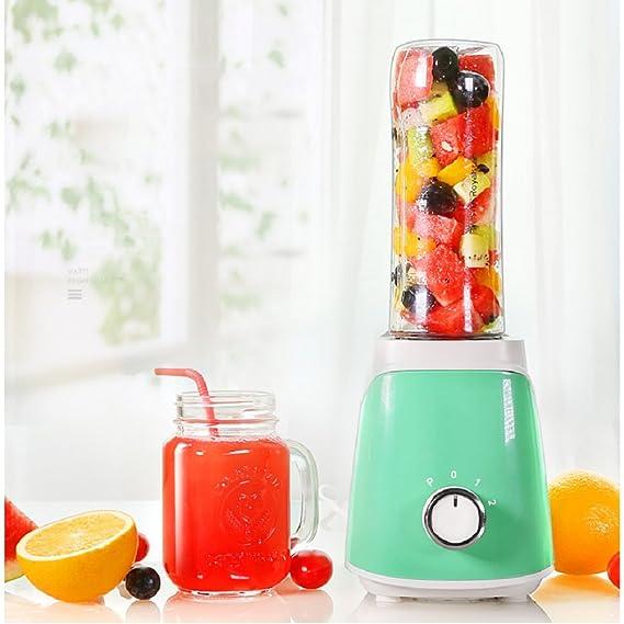 DULPLAY Smoothie maker, Licuado de frutas eléctrico, Licuadora personal(22, 000 RPM), Para batidos smoothies Abs Portátil Bpa liberan 3 deporte botella ...