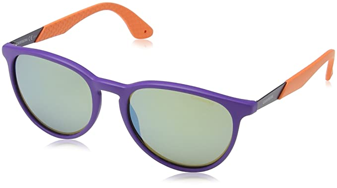 a5acab2ae7 Carrera 5019/S 3U, Occhiali da Sole Unisex-Adulto, Nero (Violet Orange), 54