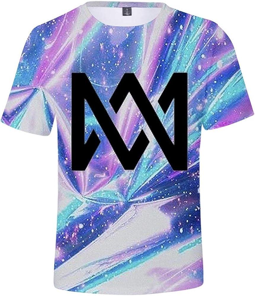 KJYAYA Zwillinge Marcus /& Martinus 3D Unisex T-Shirt Shorts Set Erwachsene Kinder Tops Kurzarm-Shorts Geschenke F/ür Fans