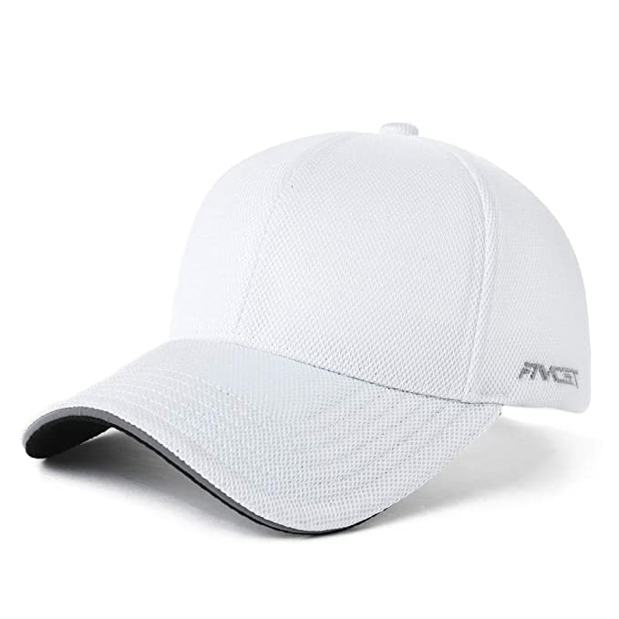 86a6c4fa1ba4e2 Image Unavailable. Image not available for. Color: Adjustable Womens Bun  Baseball Cap Ladies Outdoor Sport Camping Hiking Running Hat Summer White