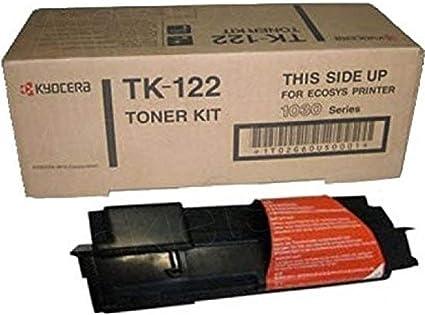 KYOCERA TK122 Cartucho 7200páginas Negro tóner y cartucho ...