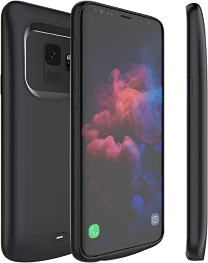 Amazon.com: Funda de batería externa para Galaxy S9 Plus ...
