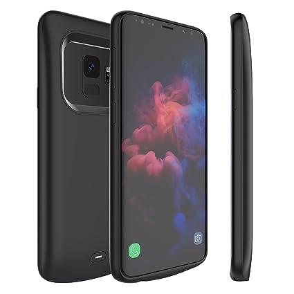 Amazon.com: Funda de batería externa para Galaxy S9 Plus ...
