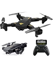 ARRIS RC Foldable Drone with Wide Angle Camera WiFi FPV 2.4G Quadcopter with 720P 2MP HD Camera Altitude Hold Mode Headless APP Control Pocket RTF Drone