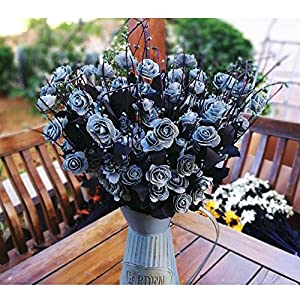 KASTLEE High-Grade PE Artificial Fake Flowers Blooming Silk Primrose Flower For Wedding Holiday Bridal Bouquet Home Party Decor Bridesmaid (A bunch of 10 flowers) 2