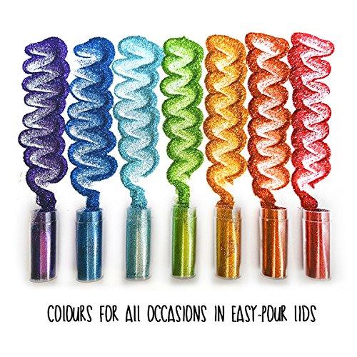 Original stationery arts and crafts glitter shake jars for Arts and crafts glitter