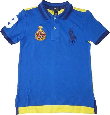 Ralph Lauren chaqueta para niño Polo T-camiseta Royal azul y ...