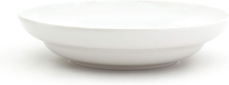 Euro Ceramica WHT-868113 Essential Dinnerware and Serveware Pure White 13 Inch Large Serving Bowl